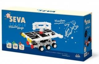 Stavebnice SEVA Vesmír Měsíční stroje plast 308 ks [HRAČKA]